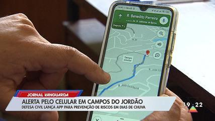 Campos do Jordão cria aplicativo que faz alerta de temporal pelo celular