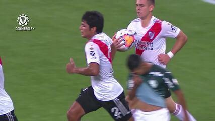 Os gols de Palmeiras 0 x 2 River Plate, pelas semifinais da Libertadores