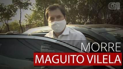 Maguito Vilela, prefeito licenciado de Goiânia, morre por complicações de Covid-19