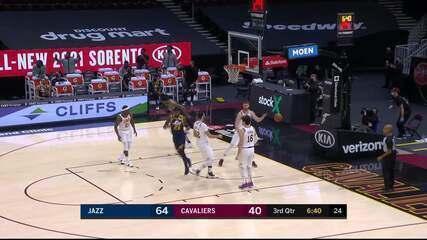 Melhores momentos: Utah Jazz 117 x 87 Cleveland Cavaliers pela NBA
