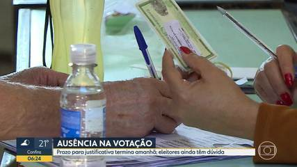Bom Dia Minas esclarece dúvida sobre justificativa eleitoral