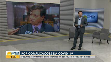 Deputado Estadual João Henrique morre por complicações da Covid-19