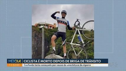 Discussão no trânsito acaba com um ciclista morto em São José dos Pinhais