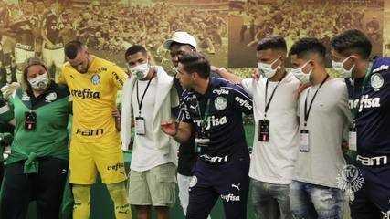 Veja os bastidores da classificação palmeirense para a final da Libertadores