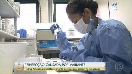 Fiocruz Amazônia detectou variante do vírus originário no Amazonas