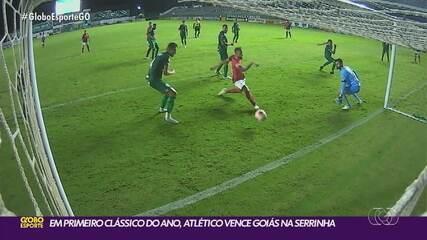 Atlético-GO vence clássico quente contra o Goiás na volta do Goianão 2020