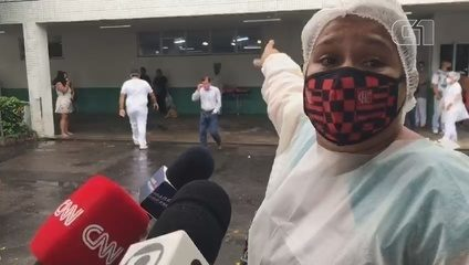 Familiares dizem que hospital reduziu oxigênio de pacientes com Covid-19