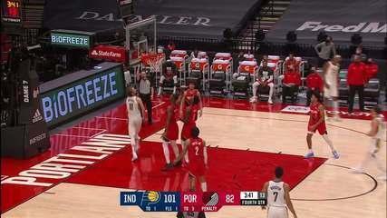 Melhores momentos: Indiana Pacers 111 x 87 Portland Trail Blazers pela NBA
