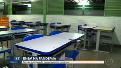 Defensoria Pública da União recomenda que a prova do Enem seja adiada no RJ