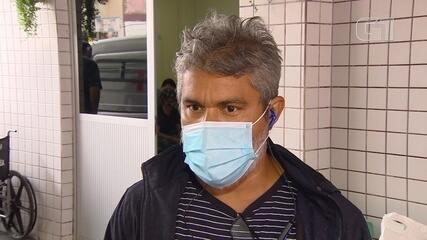 Paciente com Covid é internado com condição de revezar oxigênio com outro paciente