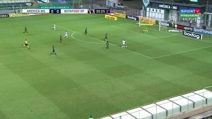 Melhores momento de América-MG 1 x 1 Botafogo-SP, pela Série B do Campeonato Brasileiro