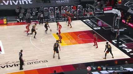 Melhores Momentos: Utah Jazz 116 x 92 Atlanta Hawks pela NBA