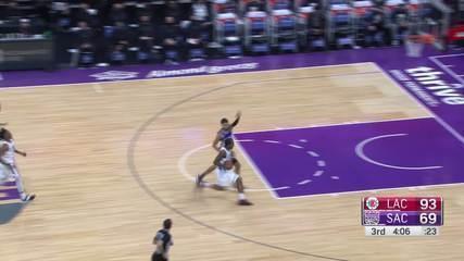 Melhores Momentos: Los Angeles Clippers 138 x 100 Sacramento Kings pela NBA