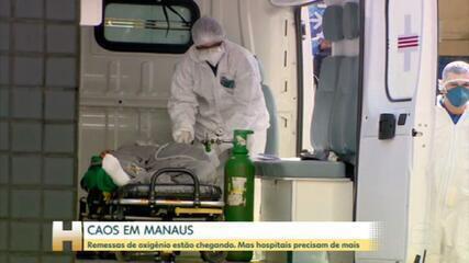 Situação dramática em Manaus: pacientes são transferidos por falta de oxigênio