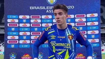 Luan Polli fala sobre a derrota do Sport para o Fluminense