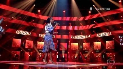 Zeni Ramos canta 'Babalú' nas Audições às cegas do 'The Voice +'