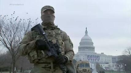 EUA preparam esquema de segurança gigantesco para a posse de Joe Biden