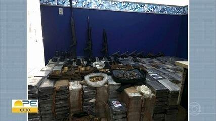 Operação prende PMs e apreende mais de 1 tonelada de cocaína e armas