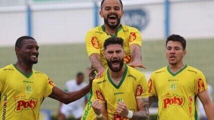 Os gols de Mirassol 4 x 0 Altos pelo jogo de ida da semifinal da Série D 2020