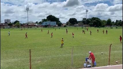 """Paulo Mulle vê evolução no Rio Branco-AC e aprova 1º coletivo: """"Bastante satisfatório"""""""