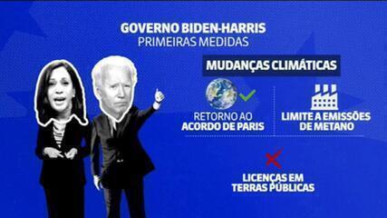 Saiba quais são as primeiras medidas do governo Biden-Harris