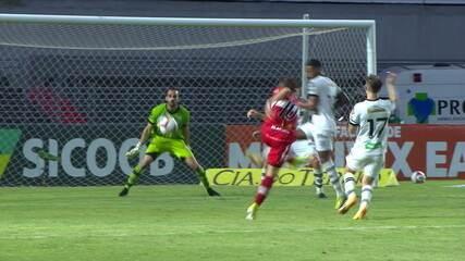 Os gols de CRB 5 x 1 Figueirense pela 36ª rodada da Série B