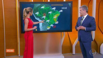 São Paulo e Mato Grosso podem ter mais chuva nesta quarta-feira (20)