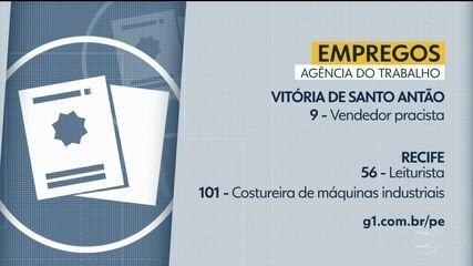Confira vagas de emprego disponíveis através da Agência do Trabalho