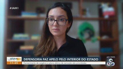 Defensoria Pública faz apelo por pacientes do interior do Amazonas