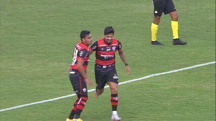 Confira os gols da partida entre Guarani e Vitória, pela 36ª rodada da Série B