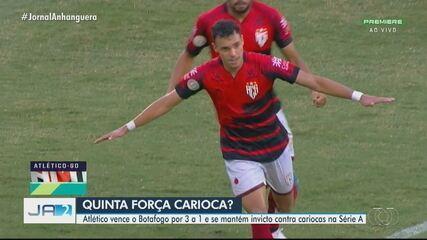 Atlético-GO vence o Botafogo no Brasileirão; veja os gols