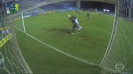 Veja os gols de Cruzeiro 2 x 1 Operário-PR pela Série B do Campeonato Brasileiro