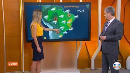 Região Centro-Oeste tem risco de temporal nesta quinta-feira (21)