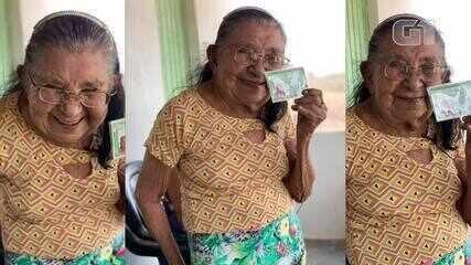 Idosa de 111 anos recebe primeira identidade expedida em parceria da Polícia Civil