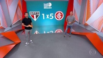 Caio Ribeiro analisa a derrota do São Paulo para o Inter