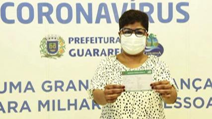 Guararema inicia a imunização contra a Covid-19; secretária de saúde fala sobre vacinação