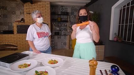 Culinarista ensina a fazer receitas com aproveitamento integral dos alimentos