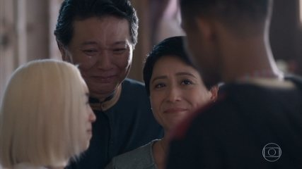 Mitsuko pede desculpas a Anderson