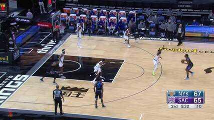 Melhores momentos: Sacramento Kings 103 x 94 New York Knicks pela NBA