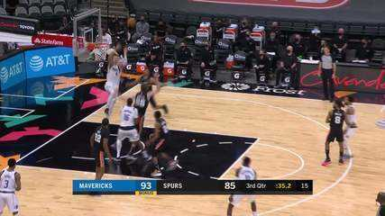 Melhores momentos: San Antonio Spurs 117 x 122 Dallas Mavericks pela NBA
