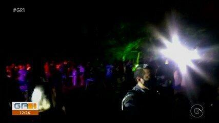 Polícia encerra evento de música eletrônica realizado em chácara de Petrolina