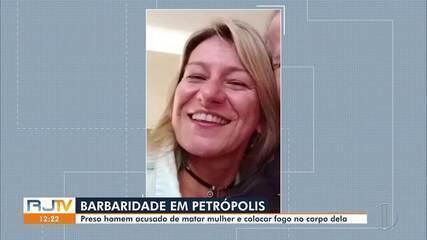 Advogada é morta e tem corpo carbonizado em Petrópolis, no RJ