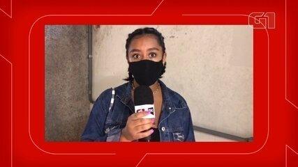 Estudante relata preocupação com o conteúdo da prova no 2º dia do Enem em Florianópolis