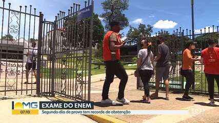 Enem tem recorde de abstenção em Minas Gerais