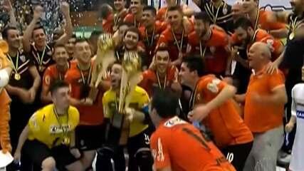 Revelado em Mogi, ala Felipe Valério relembra momentos no time de futsal