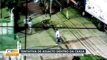 Homem é vítima de tentativa de roubo dentro da Ceasa, em Maracanaú