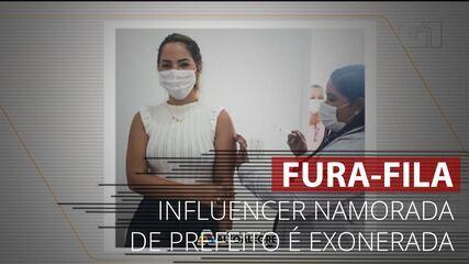 VÍDEO: MP pede exoneração de influencer namorada de prefeito em RR vacinada após nomeação