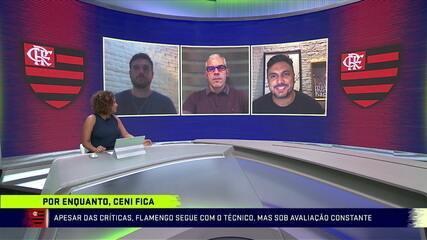 Apesar das críticas, Flamengo mantém Ceni, mas sob avaliação constante