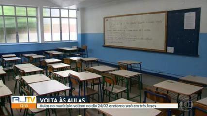 Prefeitura do Rio anuncia início das aulas presenciais na rede municipal no dia 24 de fevereiro