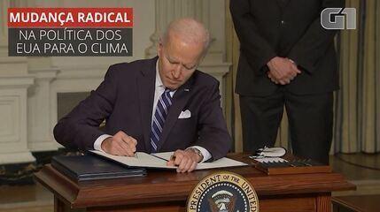 VÍDEO: Joe Biden anuncia pacote ambiental